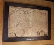 Географические карты для офиса