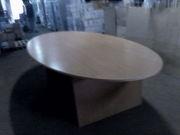 Конференц стол овальный б/у в хорошем состоянии. Цвет