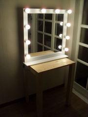 Мебель для гримерной,  Гримерное зеркало Александрит.