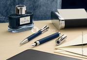 Коллекция Night Blue,  Metal файнлайнер ручка Graf von Faber-Castell се